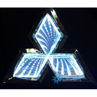 Шильдик с LED-подсветкой для Митсубиси (Mitsubishi)