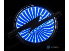 Шильдик с LED-подсветкой для Опель (Opel)