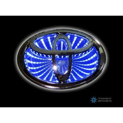 Шильдик с LED-подсветкой для Тойота (Toyota)