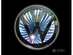 Шильдик с LED-подсветкой для Фольксваген (Volkswagen)