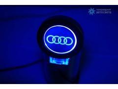 Пепельница с подсветкой логотипа Audi