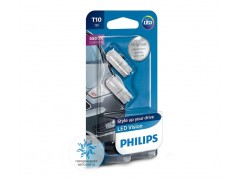Philips LED T10 (W5W) Vision 5500K