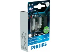 Philips LED T10 4000K X-TremeVision
