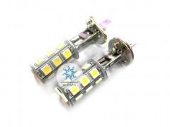 Лампа светодиодная в ПТФ H1 18SMD
