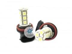 Лампа светодиодная в ПТФ H11 18SMD