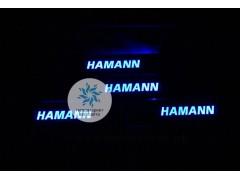 Накладки на пороги с подсветкой Hamann