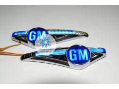 Светодиодный поворотник с логотипом GM