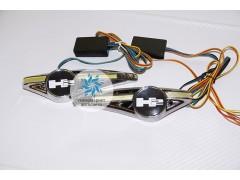 Светодиодный поворотник с логотипом Hummer