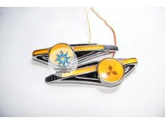 Светодиодный поворотник с логотипом Mitsubishi