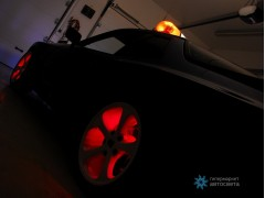 Лента со светодиодами для подсветки четырех дисков