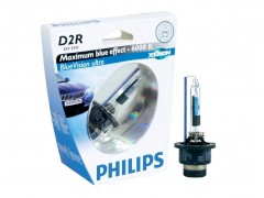 Ксеноновая лампа Philips D2R 85126BVUC1 BlueVision 6000K Original