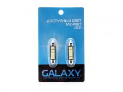 Набор светодиодов Galaxy C5W 5050 4SMD 0.8W canbus (2 шт.)