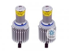 Набор светодиодов MTF-Light 12/24В, НВ4(9006), 3000К BL