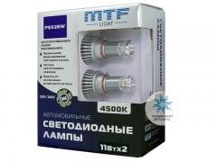 Набор светодиодов MTF-Light 12/24В, PSX26W, 4500К BL