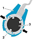 Крепление датчика на силиконовую пластину