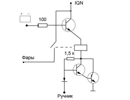 shemy podklyucheniya dho 4 - Как подсоединить дневные ходовые огни