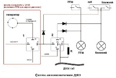 shemy podklyucheniya dho 9 mini - Как подсоединить дневные ходовые огни
