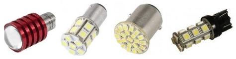 Популярность применения светодиодных ламп